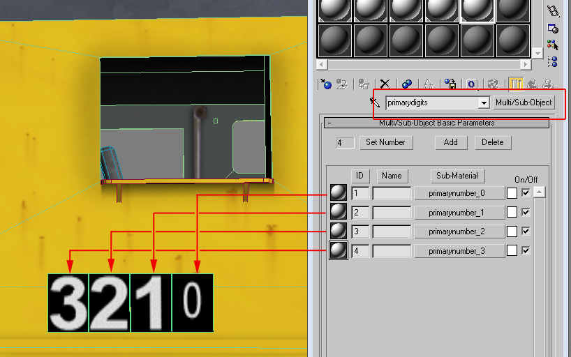 Dtg train simulator tech article train autonumbering how the multisub material is applied to the digits malvernweather Image collections