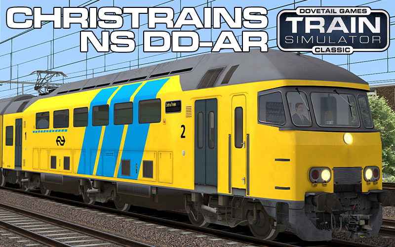 Nederlandse Spoorwegen DD-AR Passenger Train for Train Simulator