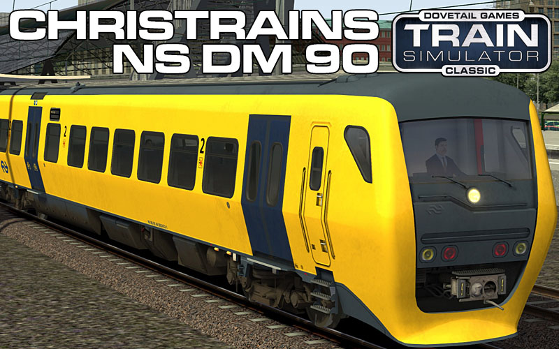 Nederlandse Spoorwegen DM90 Buffel Passenger Train for Train Simulator