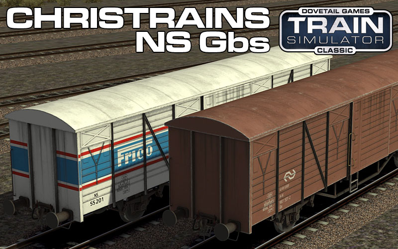 Nederlandse Spoorwegen (Dutch national railways) Gbs Freight Wagon