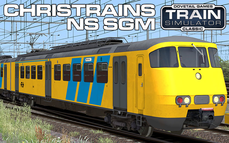 Nederlandse Spoorwegen SGM Sprinter Passenger Train for Train Simulator